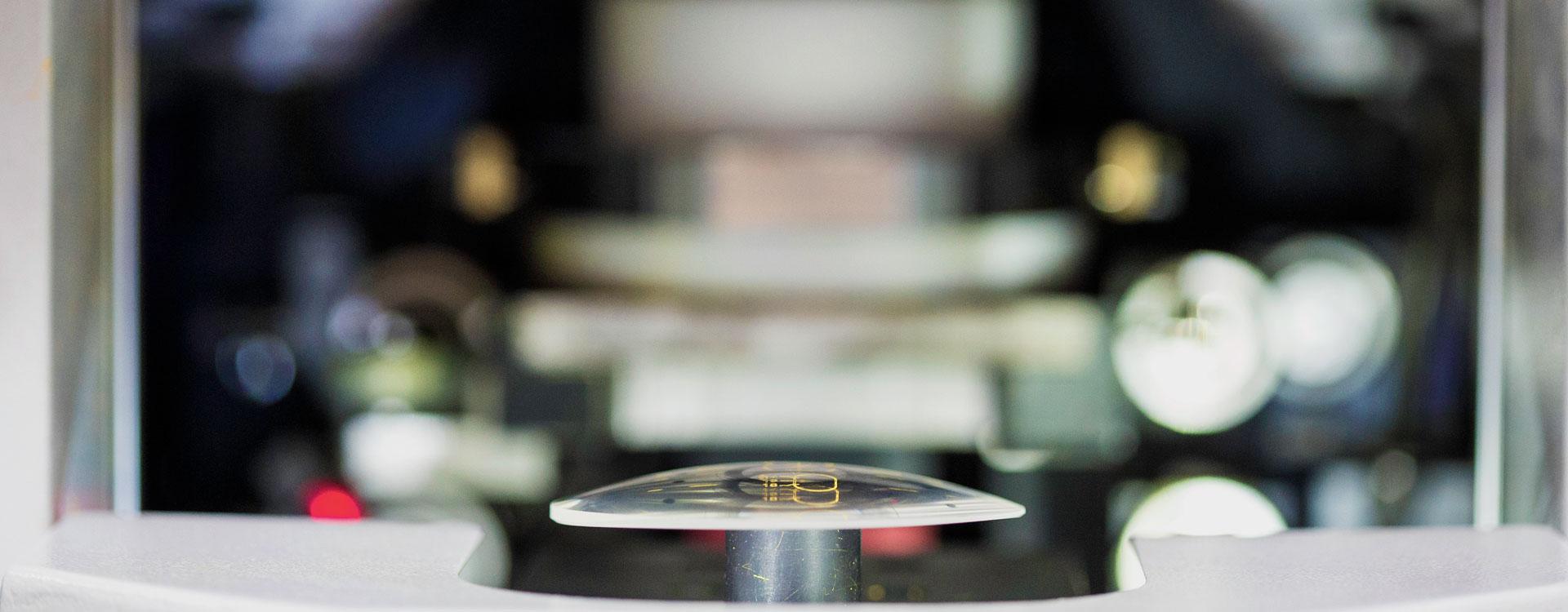 Karamouzis Optical Group lens marking machine